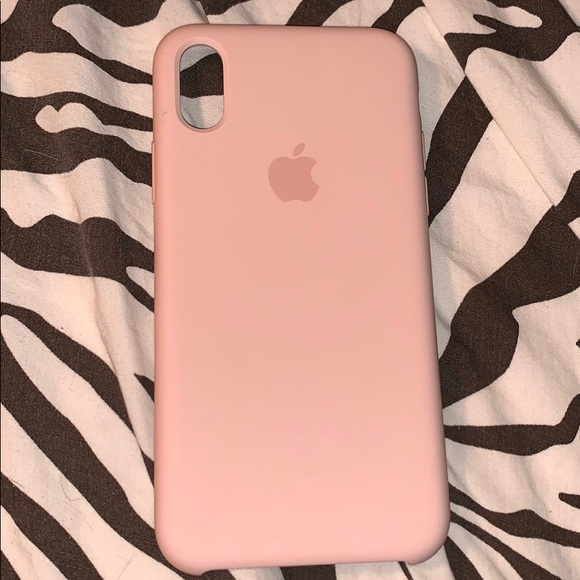cheap for discount efc7e 64f5a Apple brand Pink Sand IPhone X silicone case